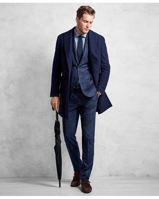 Brooks Brothers - Blue Golden Fleece® Supersoft Topcoat for Men - Lyst