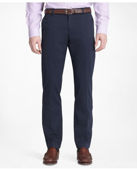 Brooks Brothers | Blue Milano Advantage Chinos® for Men | Lyst