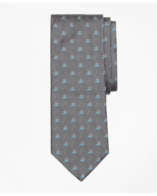 Brooks Brothers | Gray Shadow Golden Fleece® Tie for Men | Lyst