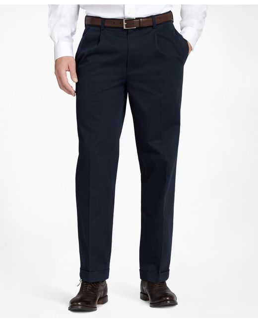Brooks Brothers | Blue Thompson Advantage Chinos® for Men | Lyst
