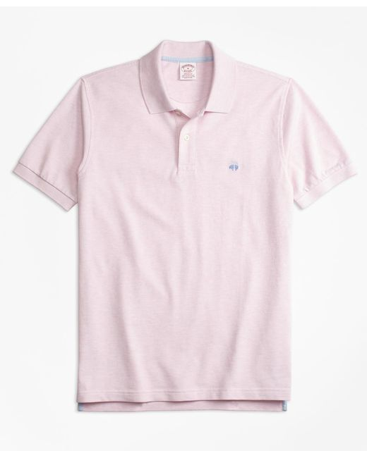 Brooks Brothers | Pink Original Fit Supima® Cotton Performance Polo Shirt for Men | Lyst