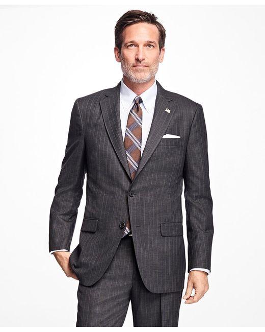 Brooks Brothers | Gray Golden Fleece® Madison Fit Stripe Suit for Men | Lyst
