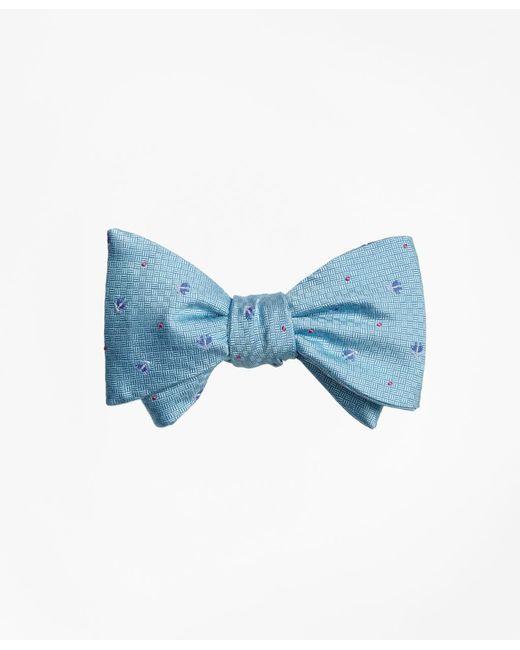Brooks Brothers - Blue Tossed Golden Fleece® Parquet Tie for Men - Lyst