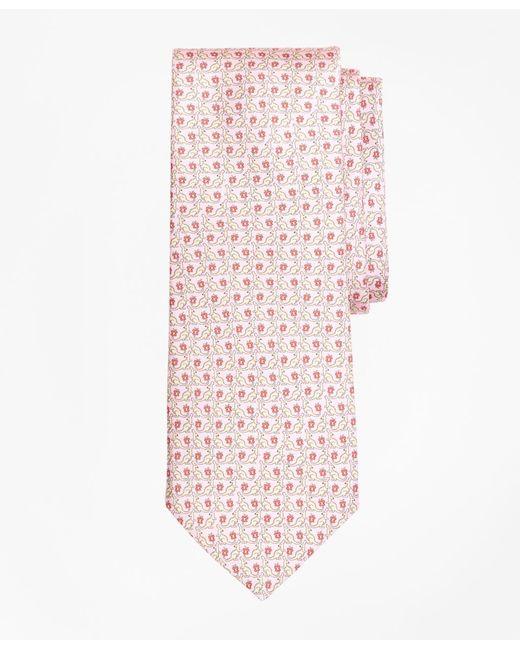 Brooks Brothers - Pink Kangaroo Print Tie for Men - Lyst