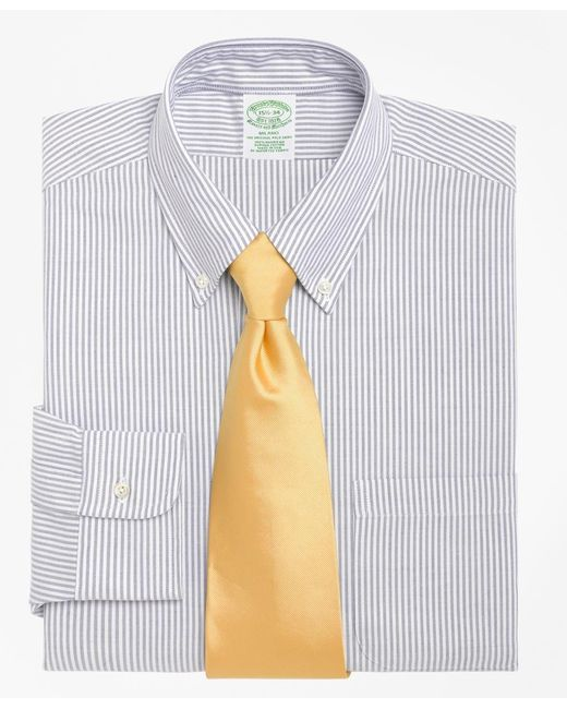 Brooks Brothers | Blue Milano Fit Stripe Dress Shirt for Men | Lyst