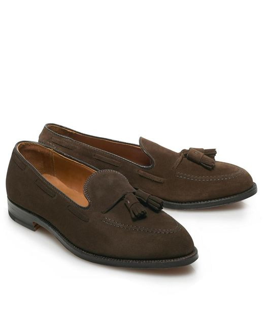 Brooks Brothers | Brown Suede Tassel for Men | Lyst