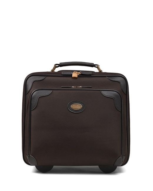 Brooks Brothers - Brown Nylon Office Trolley - Lyst