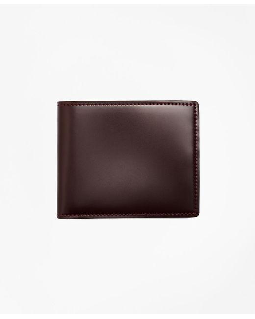 Brooks Brothers | Brown Cordovan Wallet for Men | Lyst