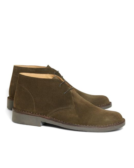Brooks Brothers - Green Field Chukka Boots for Men - Lyst