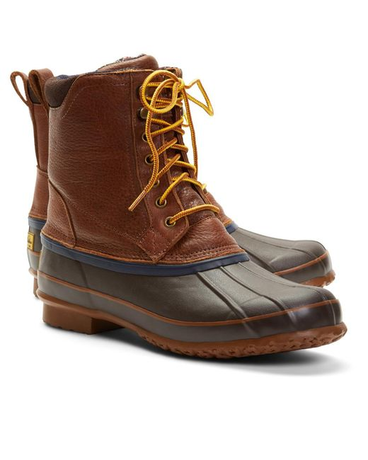 Brooks Brothers - Brown Duck Boots for Men - Lyst