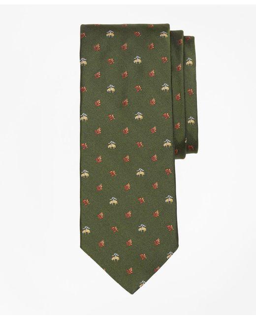 Brooks Brothers - Green Golden Fleece® Leaf Tie for Men - Lyst