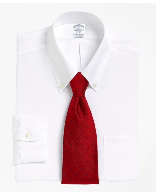 Brooks Brothers - White Madison Fit Button-down Collar Dress Shirt for Men - Lyst