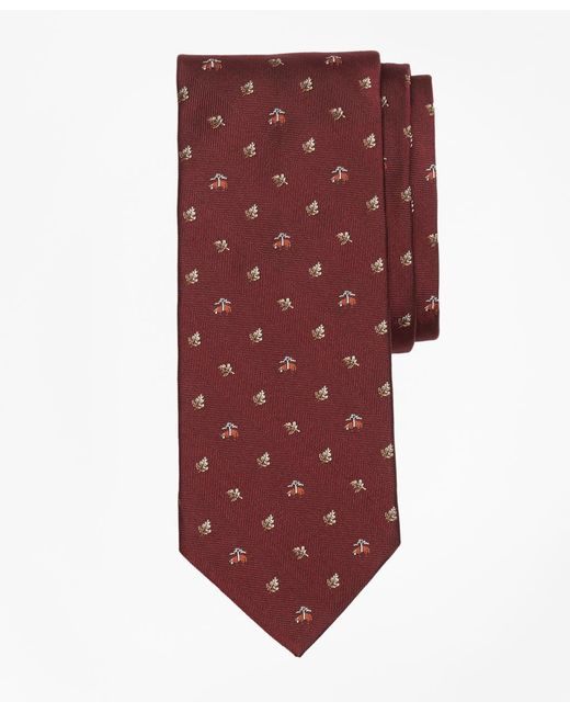 Brooks Brothers - Red Golden Fleece® Leaf Tie for Men - Lyst