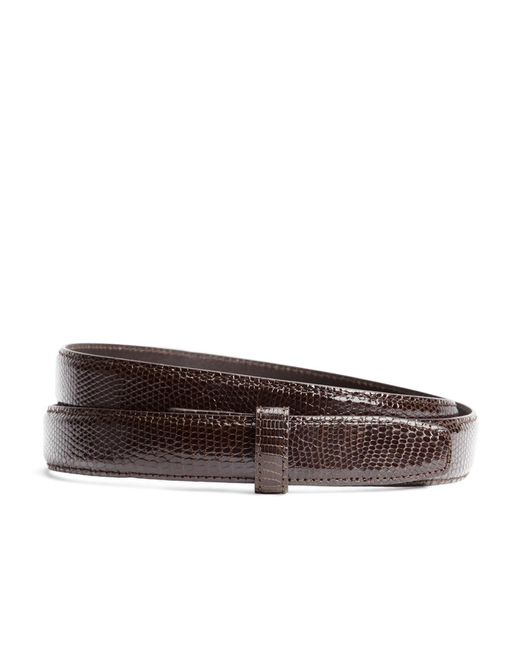 Brooks Brothers | Brown Lizard Strap for Men | Lyst