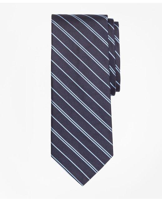 Brooks Brothers - Blue Alternating Rep Stripe Tie for Men - Lyst