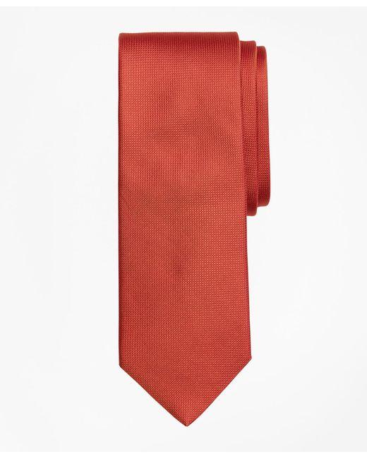 Brooks Brothers - Orange Textured Tie for Men - Lyst