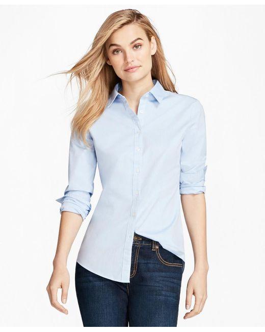 Brooks Brothers - Blue Nine-to-nine Shirt - Lyst