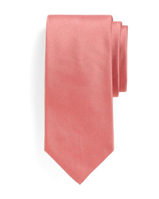 Brooks Brothers | Pink Solid Slim Tie for Men | Lyst