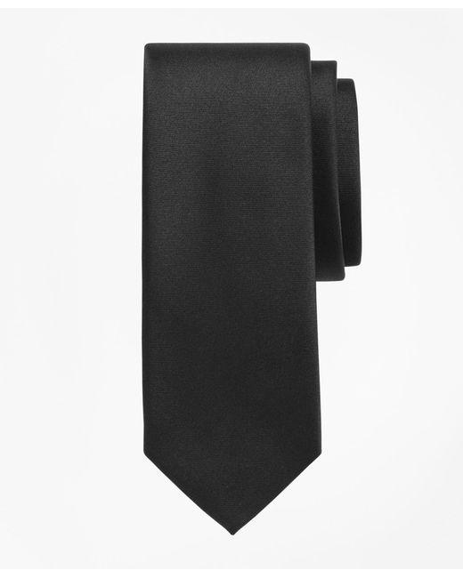 Brooks Brothers | Black Formal Satin Slim Tie for Men | Lyst