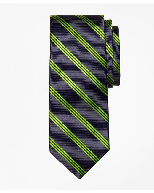 Brooks Brothers | Blue Stripe Tie for Men | Lyst