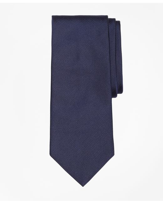 Brooks Brothers | Blue Solid Rep Tie for Men | Lyst