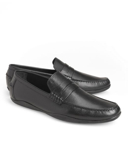 Brooks Brothers | Black Harrys Of London® Basel Leather Penny Loafers for Men | Lyst
