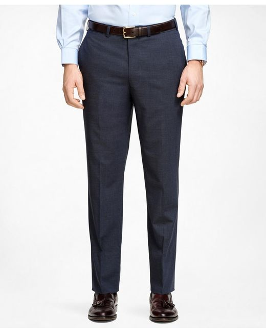 Brooks Brothers | Blue Fitzgerald Fit Brookscool® Trousers for Men | Lyst
