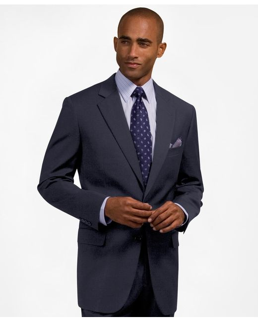 Brooks Brothers | Blue Two-button Suiting Essential Jacket for Men | Lyst