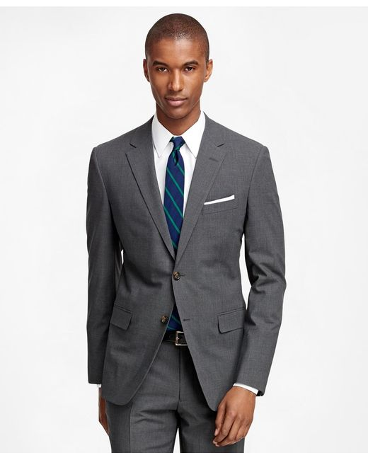 Brooks Brothers   Gray Milano Fit Brookscool® Suit for Men   Lyst