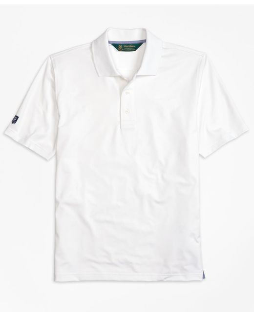 Brooks Brothers | White St. Andrews Links Golf Polo Shirt for Men | Lyst