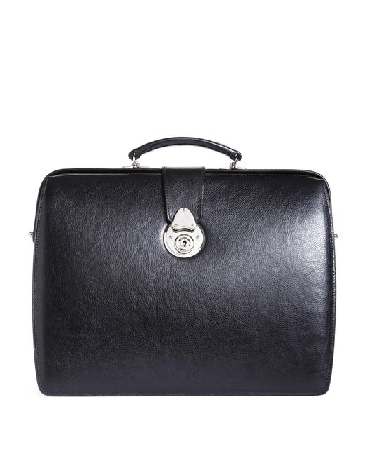 Brooks Brothers | Black Lawyers Small Briefcase for Men | Lyst