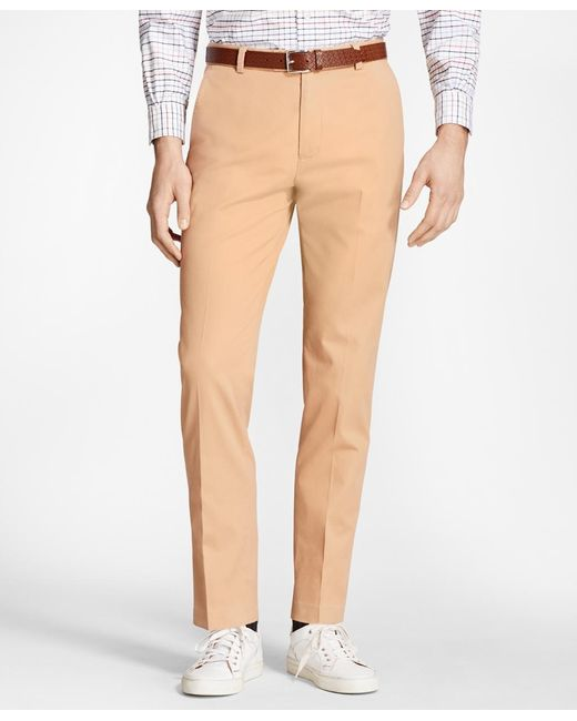 Brooks Brothers | Multicolor Milano Fit Piece-dyed Supima® Cotton Stretch Chinos for Men | Lyst