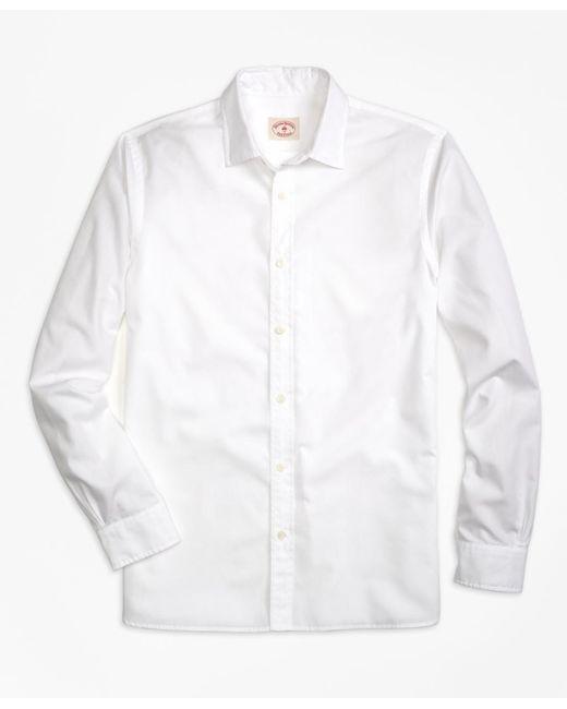 Brooks Brothers | White Nine-to-nine Shirt for Men | Lyst