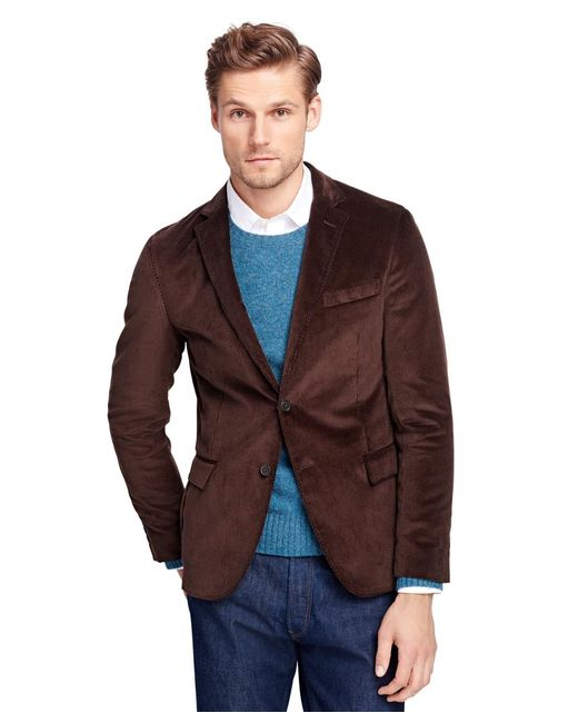 Brooks Brothers | Brown Corduroy Sport Coat for Men | Lyst