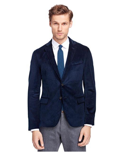 Brooks Brothers | Blue Corduroy Sport Coat for Men | Lyst