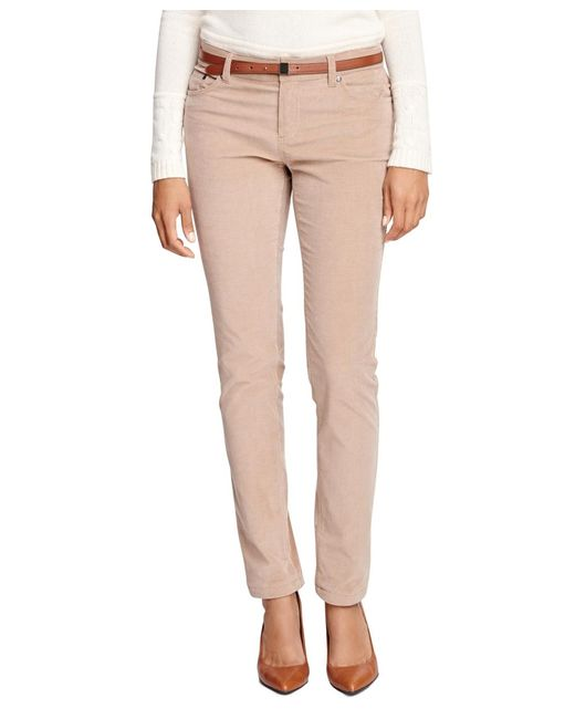 Brooks Brothers | Natural Natalie Fit Corduroys | Lyst