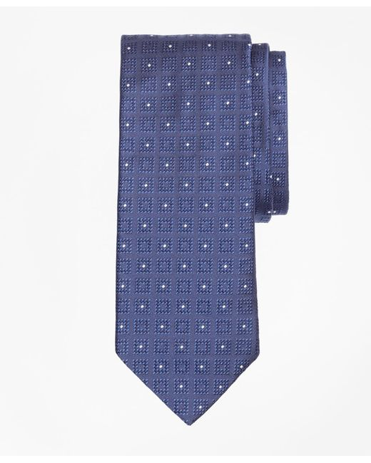 Brooks Brothers | Blue Square With Dot Tie for Men | Lyst