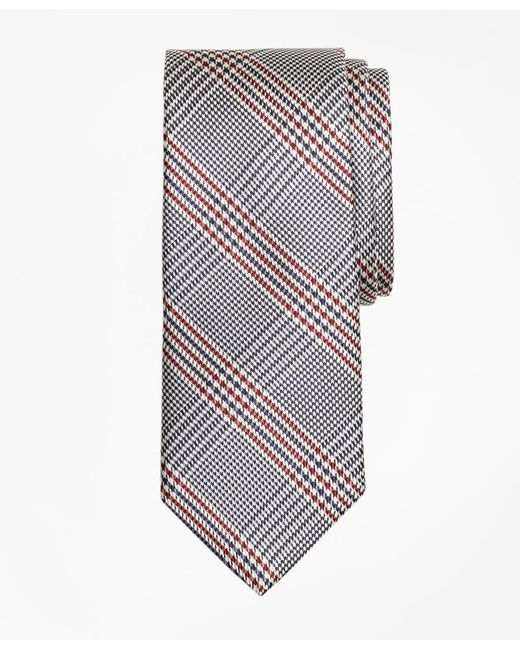 Brooks Brothers - Blue Plaid Tie for Men - Lyst