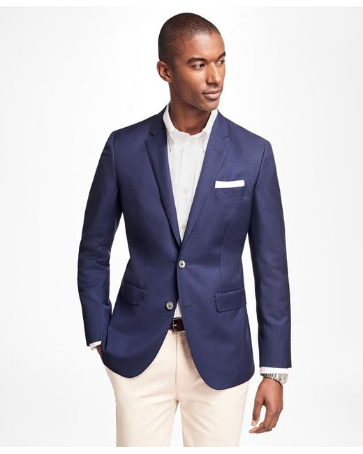 Brooks Brothers | Blue Milano Fit Two-button Blazer for Men | Lyst