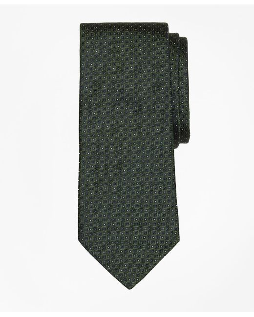 Brooks Brothers - Green Solid-non-solid Tie for Men - Lyst