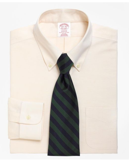 Brooks Brothers - Natural Non-iron Madison Fit Brookscool® Button-down Collar Dress Shirt for Men - Lyst