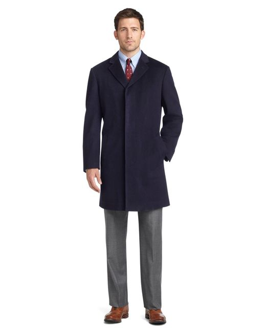 Brooks Brothers - Blue Brooksstorm® Short Town Coat for Men - Lyst