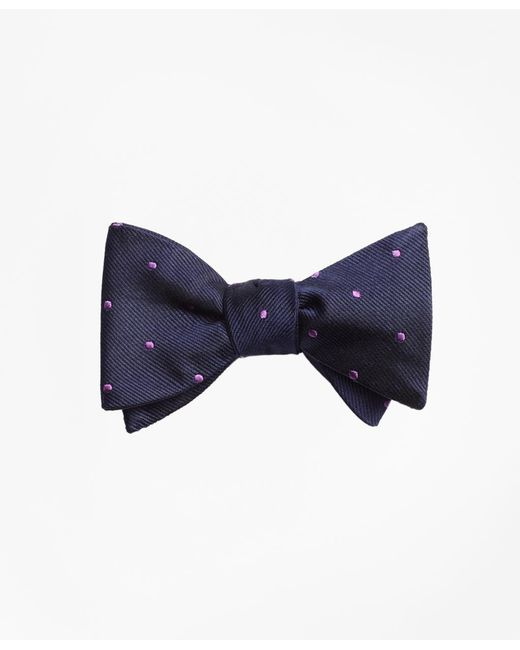 Brooks Brothers | Blue Dot Bow Tie for Men | Lyst
