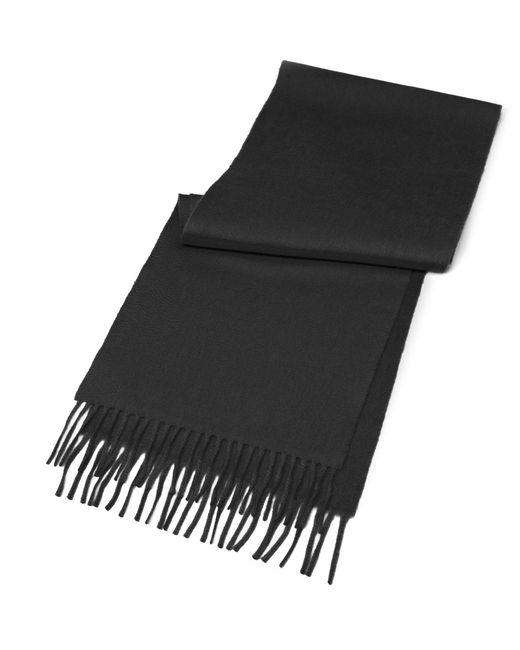 Brooks Brothers | Black Cashmere Scarf for Men | Lyst