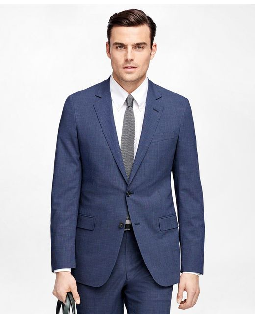 Brooks Brothers | Blue Fitzgerald Fit Brookscool® Check Suit for Men | Lyst
