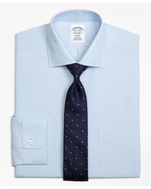 Brooks Brothers - White Non-iron Milano Fit Spread Collar Dress Shirt for Men - Lyst