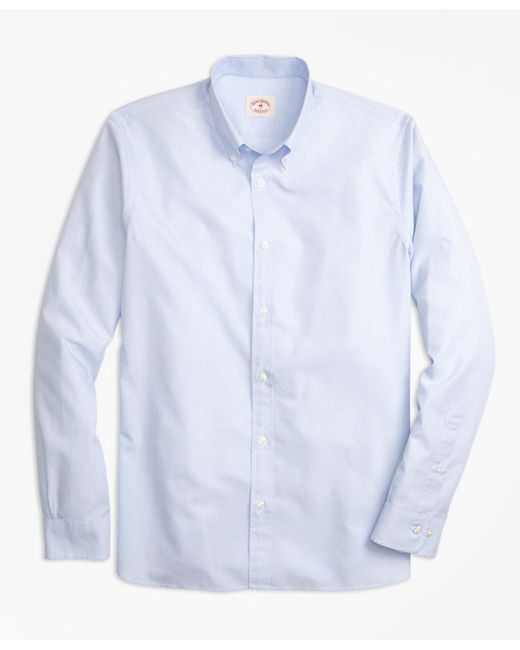Brooks Brothers - Blue Nine-to-nine Spread Collar Shirt for Men - Lyst
