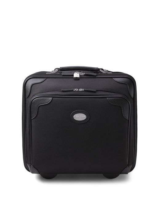 Brooks Brothers | Black Nylon Office Trolley | Lyst