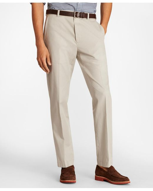 59fd3d2c5 Brooks Brothers - Natural Clark Fit Multi-check Stretch Advantage Chinos  for Men - Lyst ...
