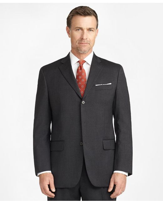 Brooks Brothers - Gray Madison Fit Three-button 1818 Suit for Men - Lyst